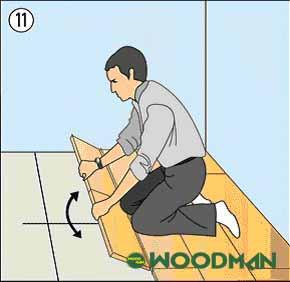 Các bước lắp đặt sàn gỗ Malaysia đơn giản, nhanh chóng