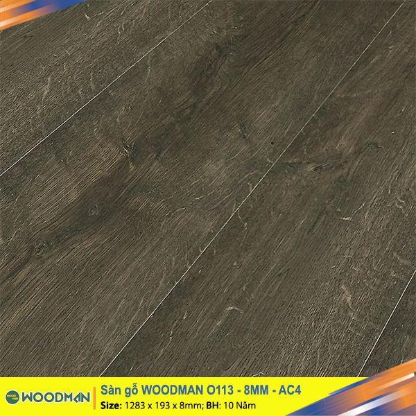 Sàn gỗ WOODMAN O113 8mm