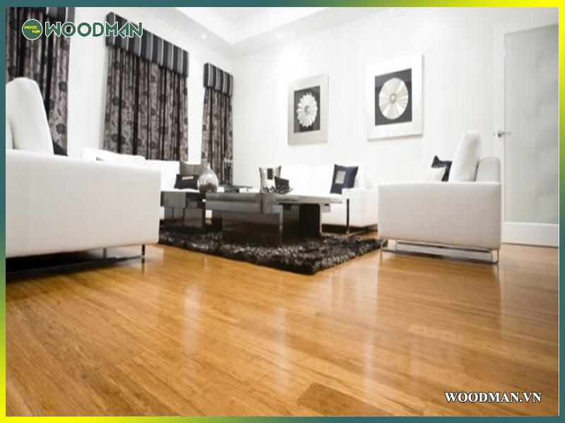 Lắp đặt sàn gỗ Woodman đẹp, chất cho văn phòng làm việc