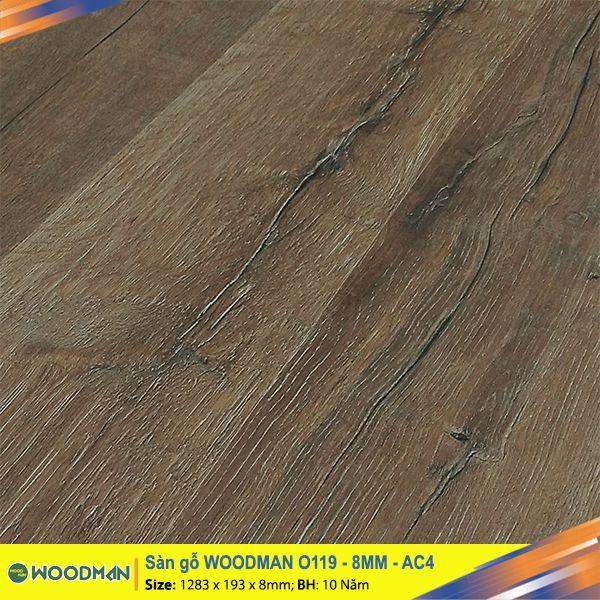 Sàn gỗ WOODMAN O119 8mm