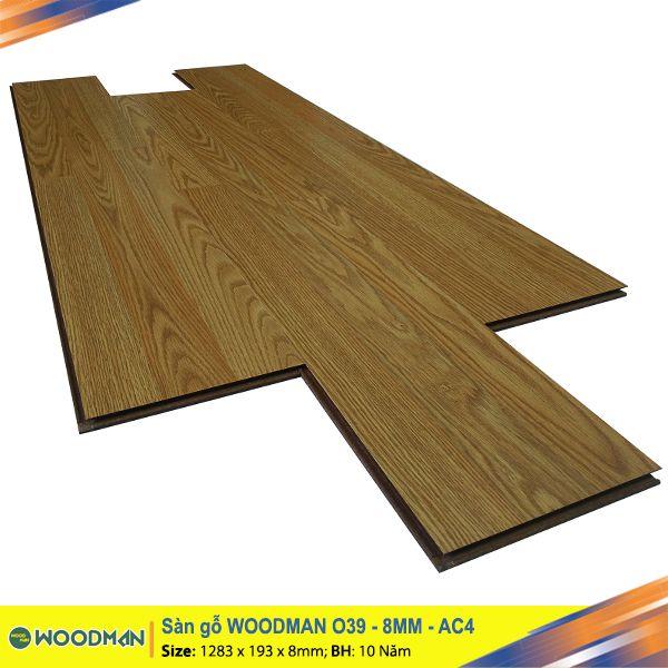 Sàn gỗ WOODMAN O39 8mm