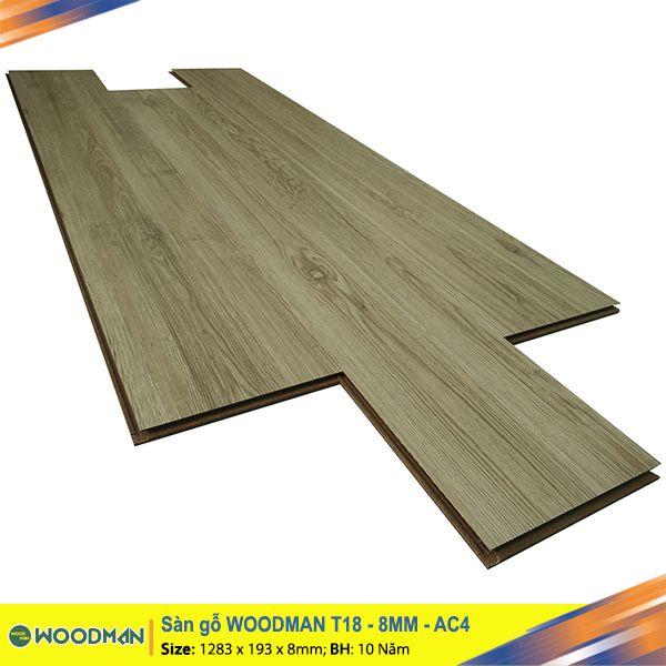 Sàn gỗ WOODMAN T18 8mm