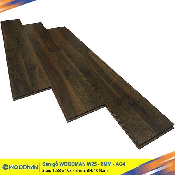 Sàn gỗ WOODMAN W25 8mm