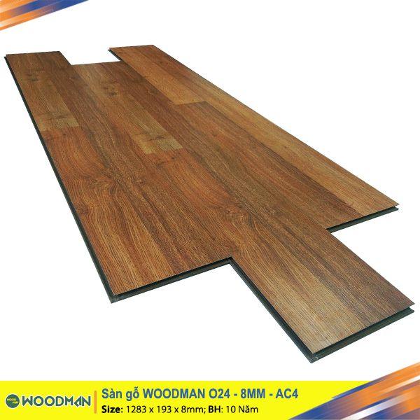 Sàn gỗ WOODMAN O24 8mm