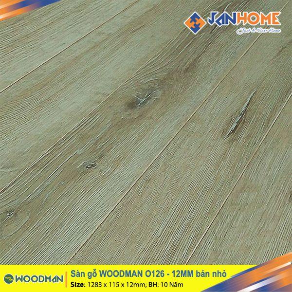 Sàn gỗ WOODMAN O126