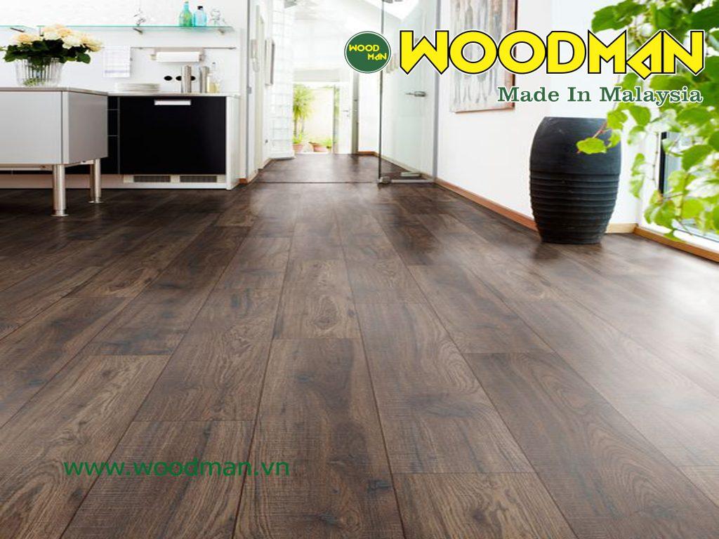 Sàn gỗ Woodman là sản phẩm vật liệu hoàn thiện mang tính ổn định lâu dài.