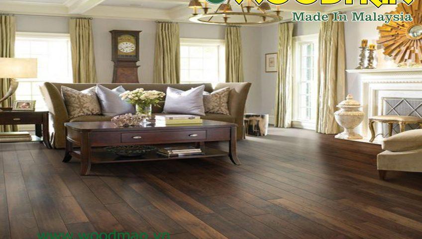 Sàn gỗ WOODMAN có khả năng chịu cấp độ mài mòn cực tốt đạt tiêu chuẩn AC4.