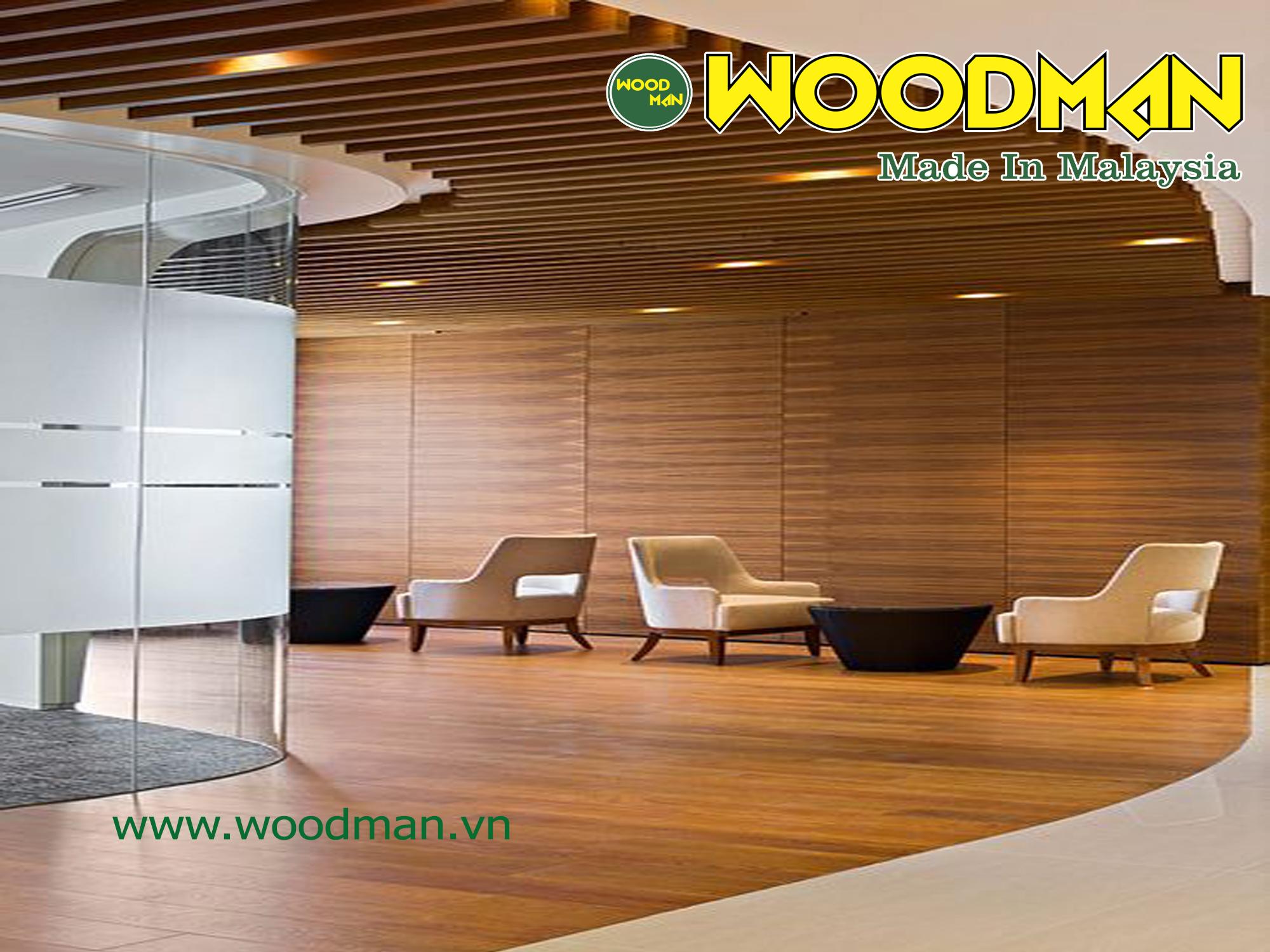 Sàn gỗ Woodman lắp đặt sàn gỗ văn phòng chuyên nghiệp.