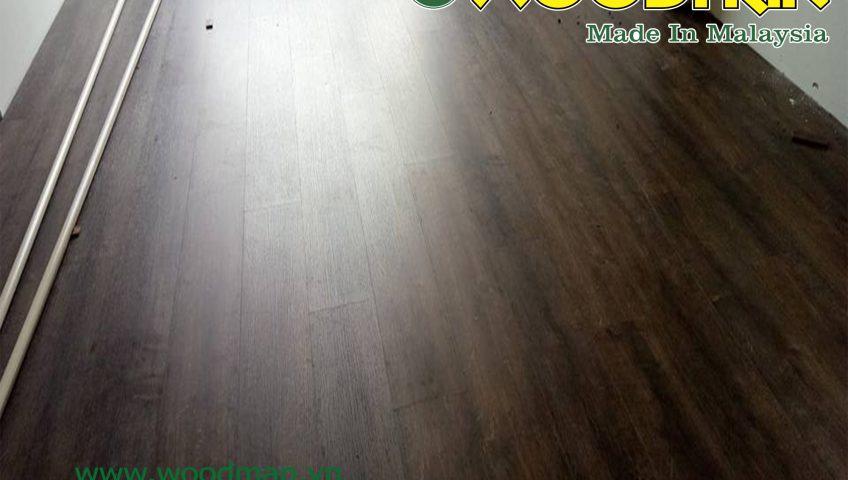 Hình ảnh hoàn thiện sàn gỗ Woodman tại nhà khách hàng.