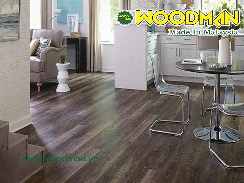 sàn gỗ Malaysia siêu chịu nước lắp đặt phòng khách