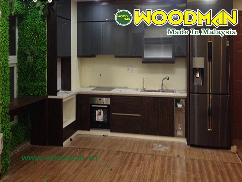Nên lắp đặt tủ bếp trước khi lát sàn gỗ