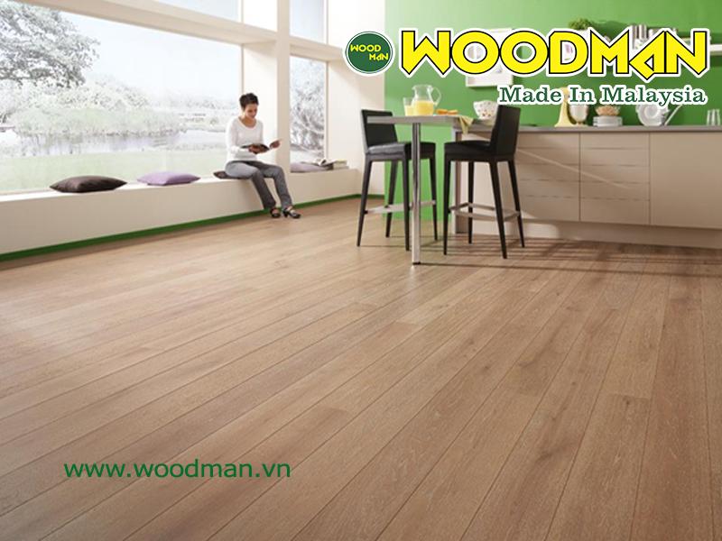 Sàn gỗ công nghiệp woodman mang đến nhiều lợi ích cho sức khỏe con người