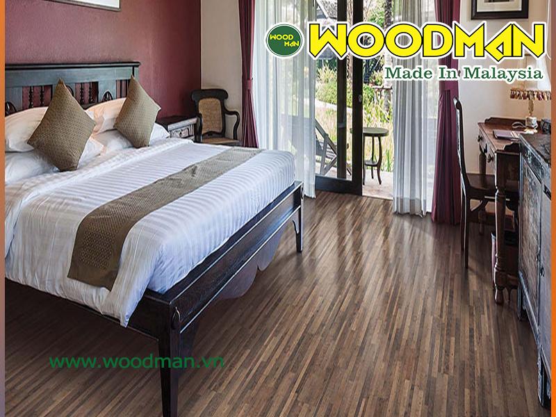 Sàn gỗ Malaysia giúp phòng ngủ đẹp và sang trọng