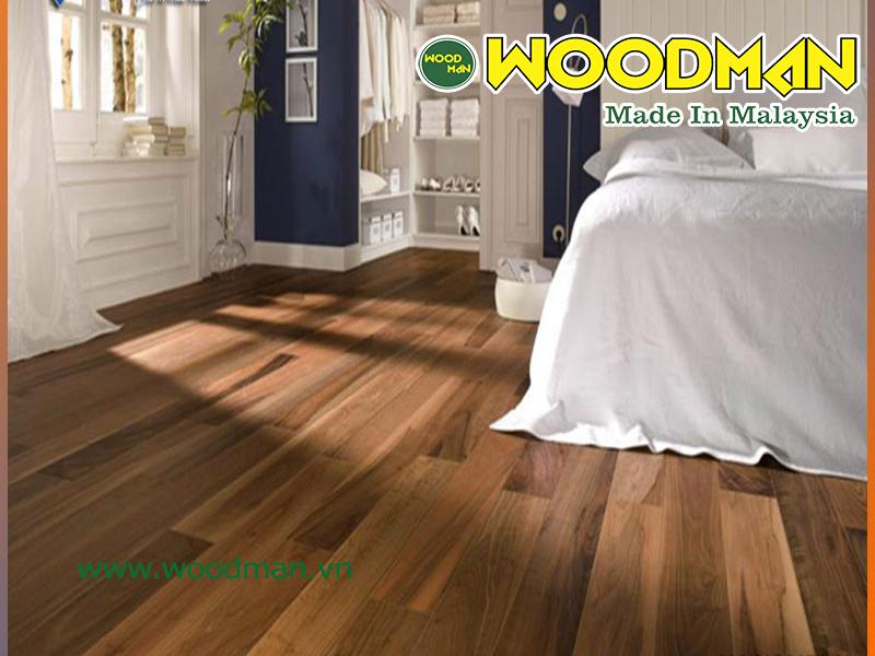 Sàn gỗ Malaysia tạo cảm giác an toàn và thái mái