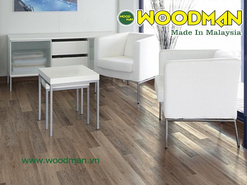 Sàn gỗ công nghiệp woodman mang lại nhiều lợi ích cho  sức khỏe con người
