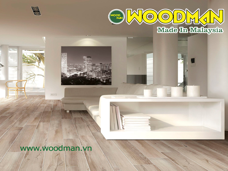 Sàn gỗ Woodman lắp đặt văn phòng công ty