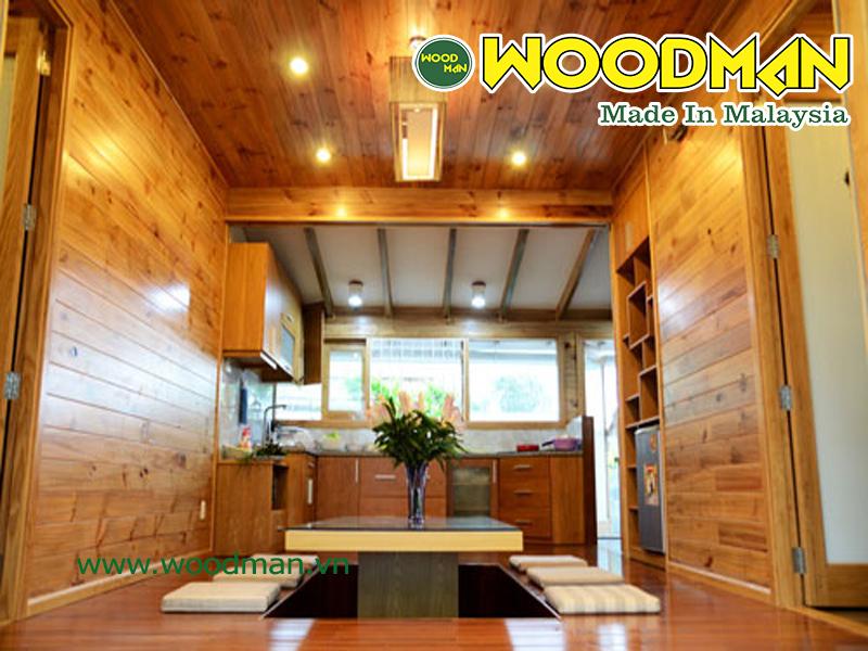 Ôp tường trong nhà bằng gỗ công nghiệp giúp mang lại diện mạo mới cho ngôi nhà của bạn