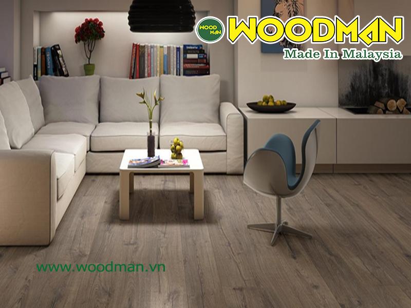 Sàn gỗ Malaysia lắp đặt phòng khách