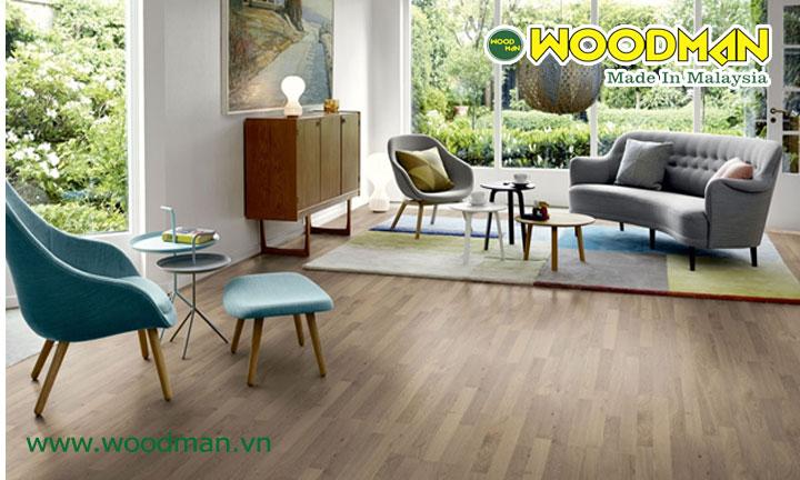 Cách lựa chọn sàn gỗ Malaysia cho từng không gian lắp đặt