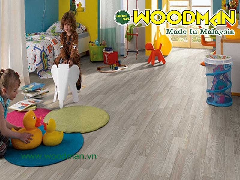 Sàn gỗ Malaysia hoàn toàn phù hợp lát sàn trường mầm non