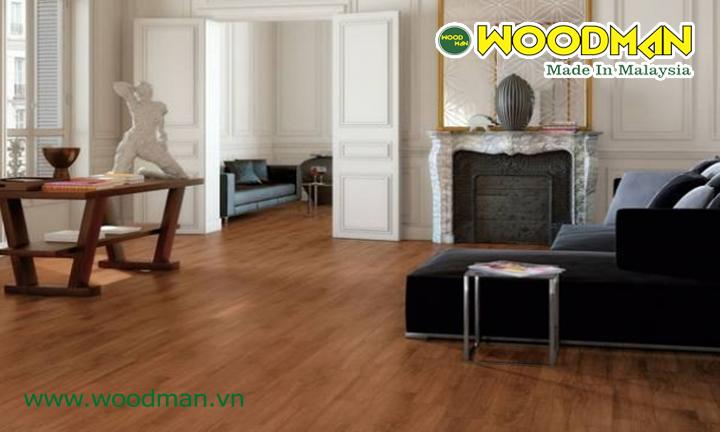 Sàn gỗ công nghiệp có khả năng chiu độ ẳm cao