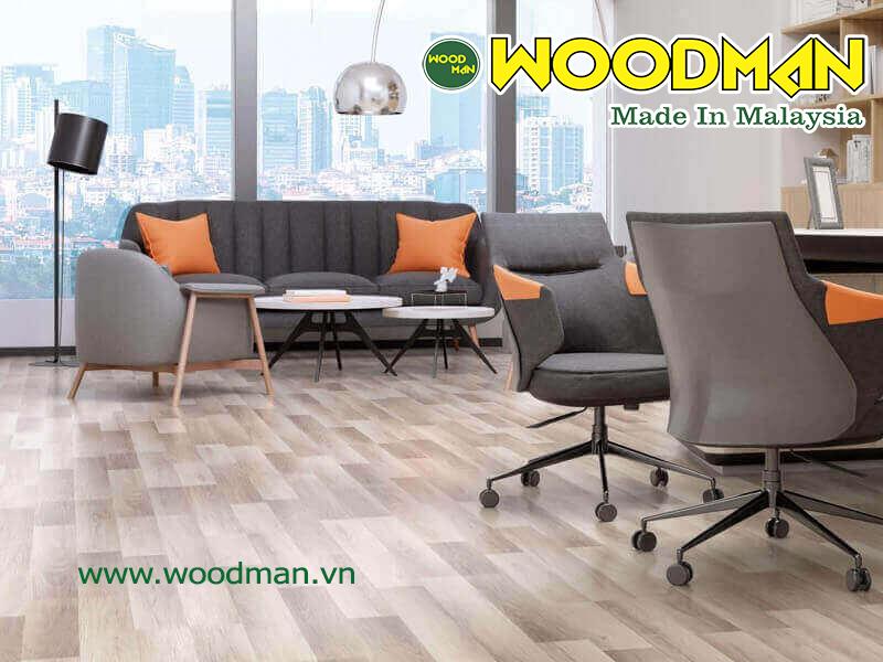 Sàn gỗ JanHome lắp đặt văn phòng làm việc