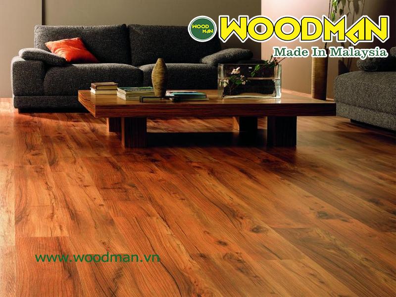 Sàn gỗ Woodman xuất xư Malaysia được rất nhiều khách hàng yêu thích lựa chọn