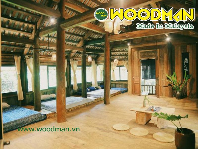 Sàn gỗ công nghiệp lắp đặt công trinh ven biển