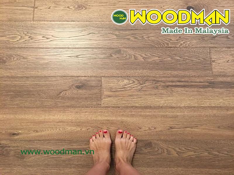 Sàn gỗ Malaysia giúp mang lại sự thoải mái khi di chuyển trên sàn