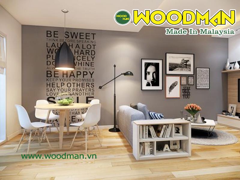 Sàn gỗ Malaysia là sàn gỗ có chất lượng tốt và được sử dụng rộng rãi