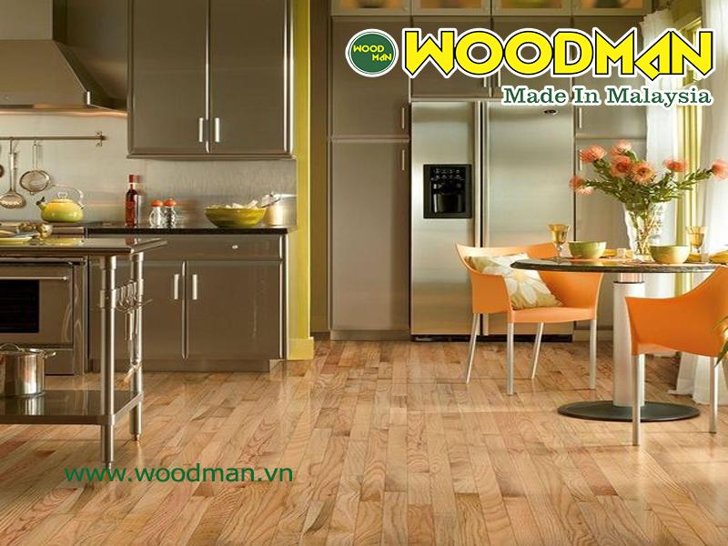 Sàn gỗ đẹp cho phòng bếp hoàn hảo