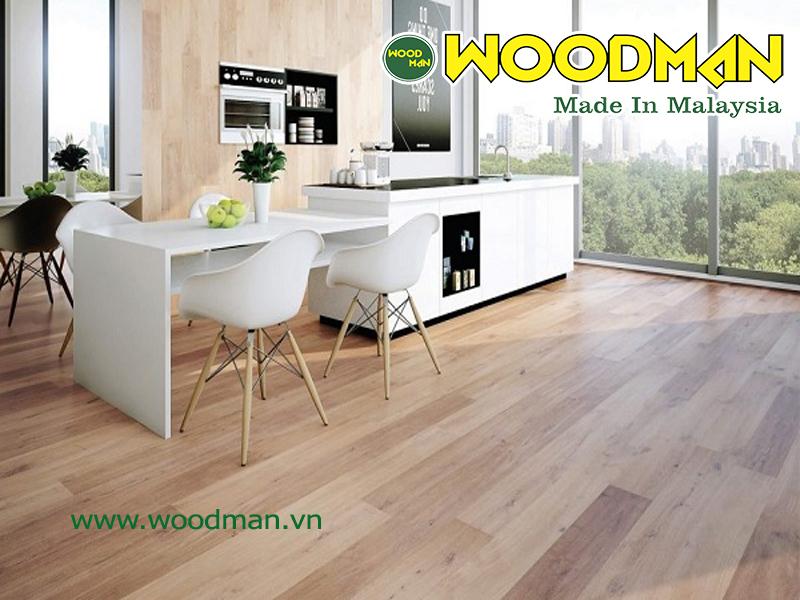 Sàn gỗ Woodman được phân phối bởi công ty cổ phần XNK Tháng Giêng