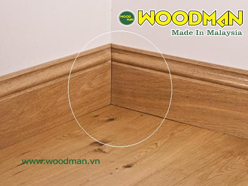 Phào chân tường giúp mang đến tính thẩm mỹ hoàn thiện cho công trình nội thất