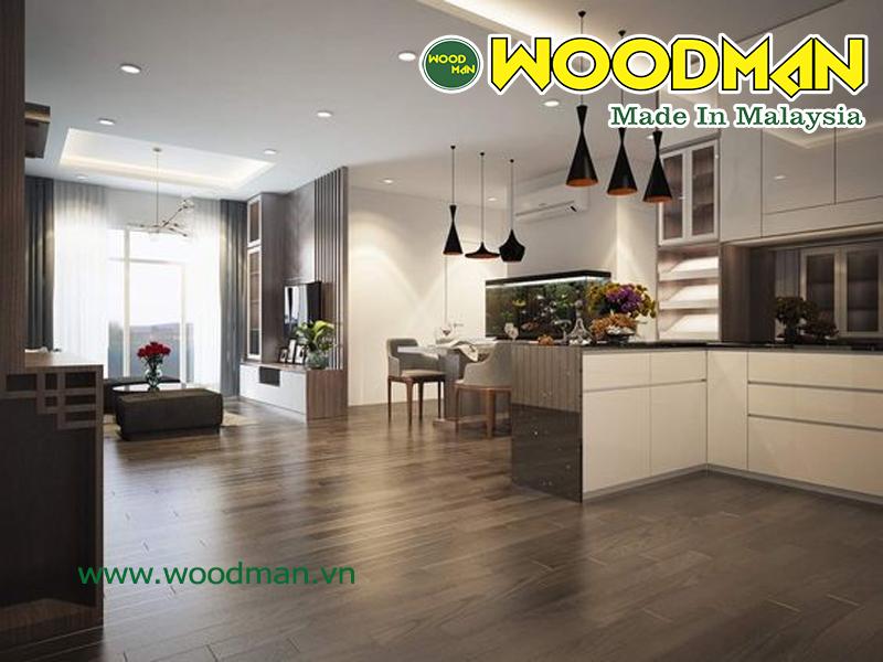 Cần tìm hiểu kỹ thông tin trước khi mua sàn gỗ công nghiệp lắp đặt không gian nội thất