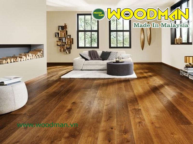 Sàn gỗ công  nghiệp chịu ảnh hưởng lớn của độ ẩm không khí