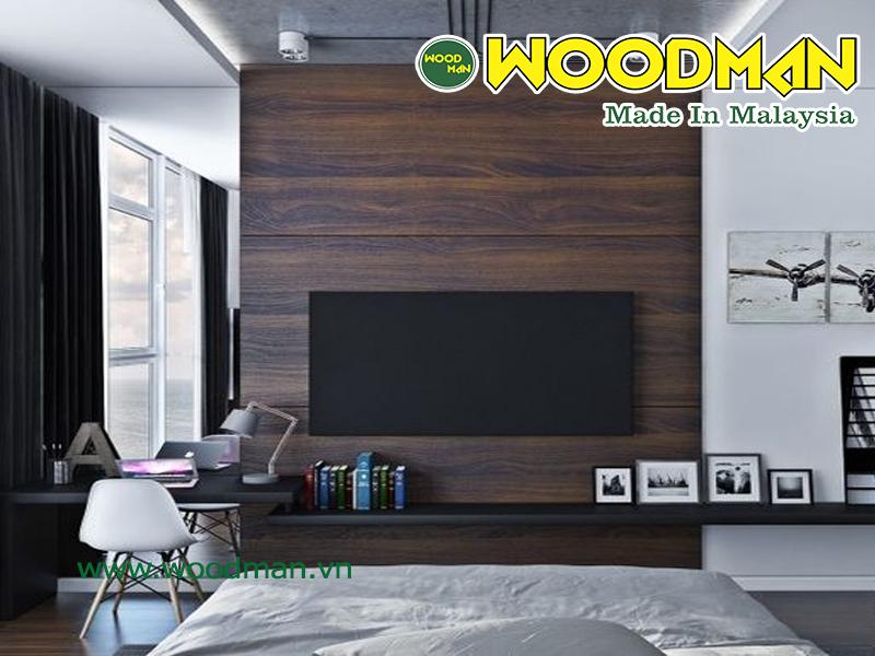 Ốp tường trong nhà bằng gỗ công nghiệp chất lượng