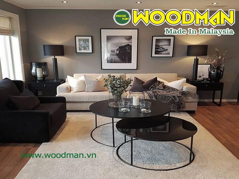 Sàn gỗ Malaysia bền màu với thơi gian và không bị bay màu trong quá trình sử dụng