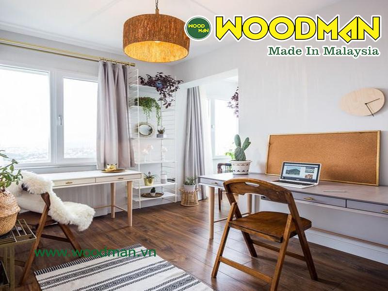 Căn hộ chung cư cao cấp với sàn gỗ công nghiệp Malaysia