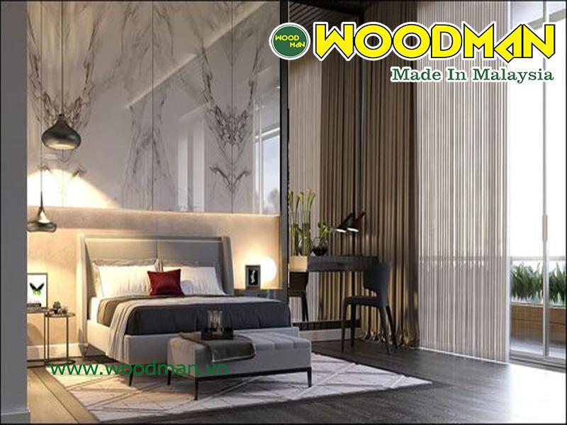 Sàn gỗ Robina lắp đặt phòng ngủ sang trọng